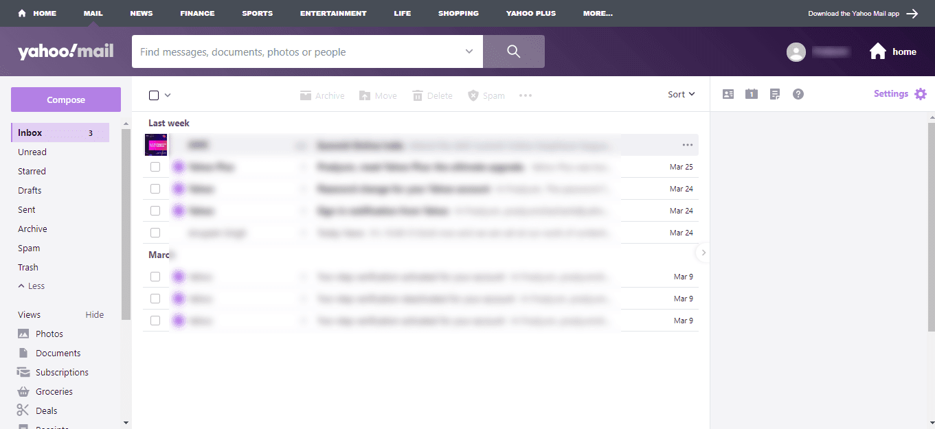 launch yhoo mail browser